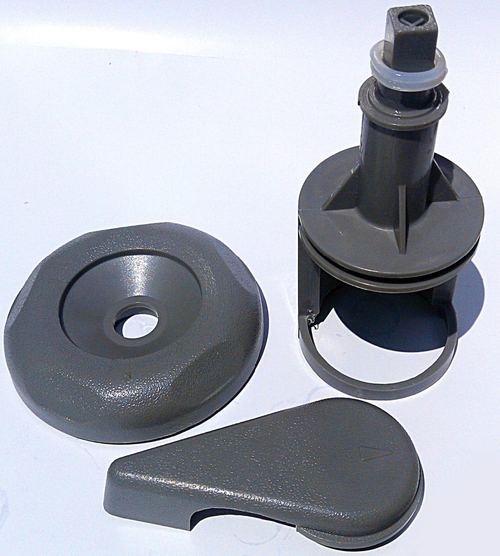 2 spa hot tub Diverter water Valve Gray O Ring Cap Stem Kit Reinforced Handle