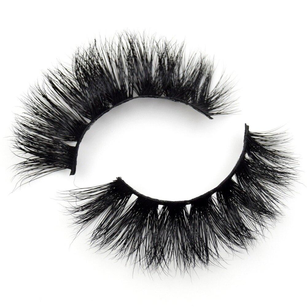 Visofree Eyelashes 3D Mink Lashes Makeup Handmade Full Strip Mink Eyelashes Soft Fluffy Eyelashes Full Volume False Eyelash E04