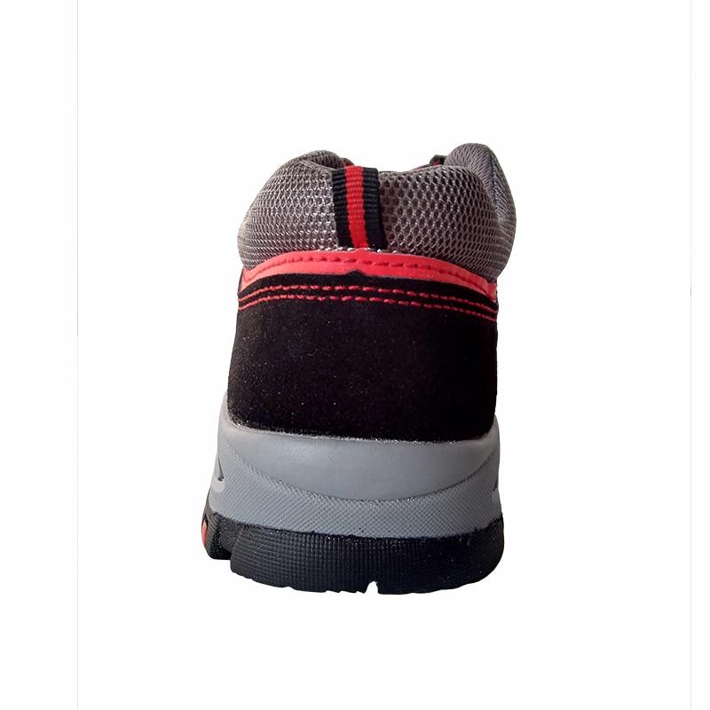 Constructeur Au Robe Chaussures Plate Size Travail Plus Cuir Outillage De Occasionnels Suède Sécurité Confort Vache En Embout forme Acier Bottes Hommes FZTwv