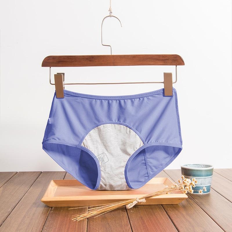 3 pz/set mutandine mestruali pantaloni Sexy da donna a prova di perdite intimo periodo slip a prova di vita alta femminile Dropshipping 2