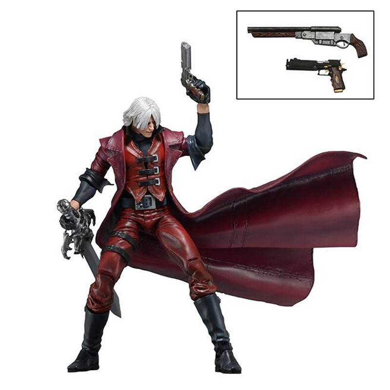 Japan anime NECA Devil May Cry Dante PVC christmas christmas gifts doll Action Figure Collectible Model Toy T5841 devil may cry3 dante pvc action figure model toys kids gifts collections