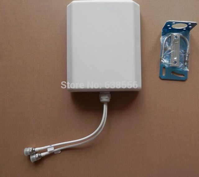2x2 Mimo 4 Г LTE Панельная Антенна, 700-2700 МГц Широкополосный Omni Панели 4 Г LTE антенна