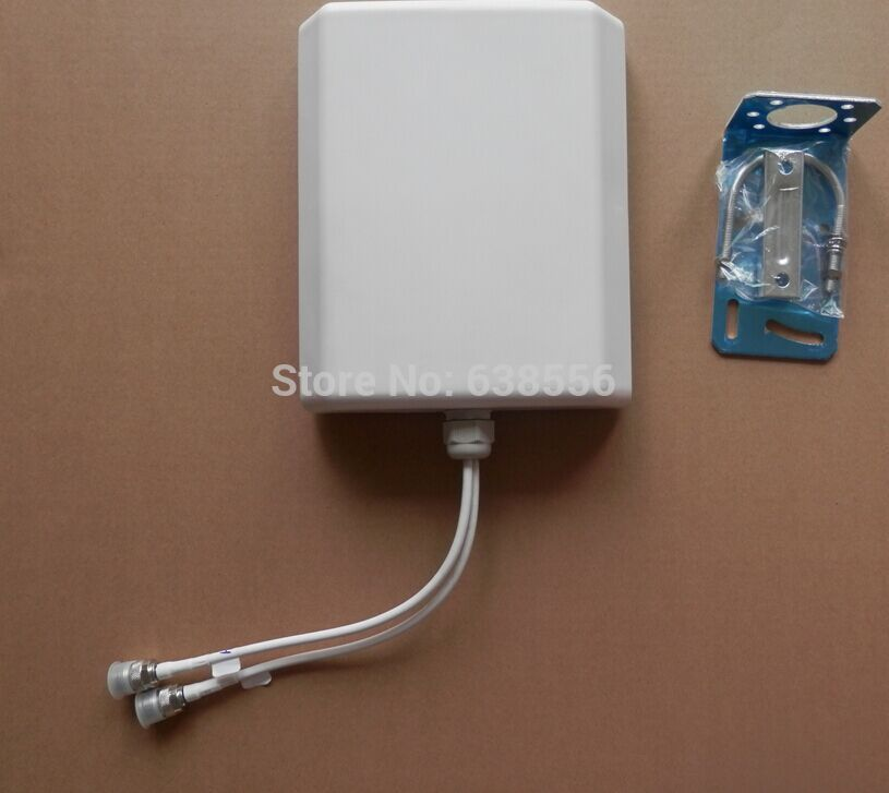 2x2 Mimo 4G LTE Panel Antenna 700 2700MHz Broadband Omni Panel 4G LTE Antenna