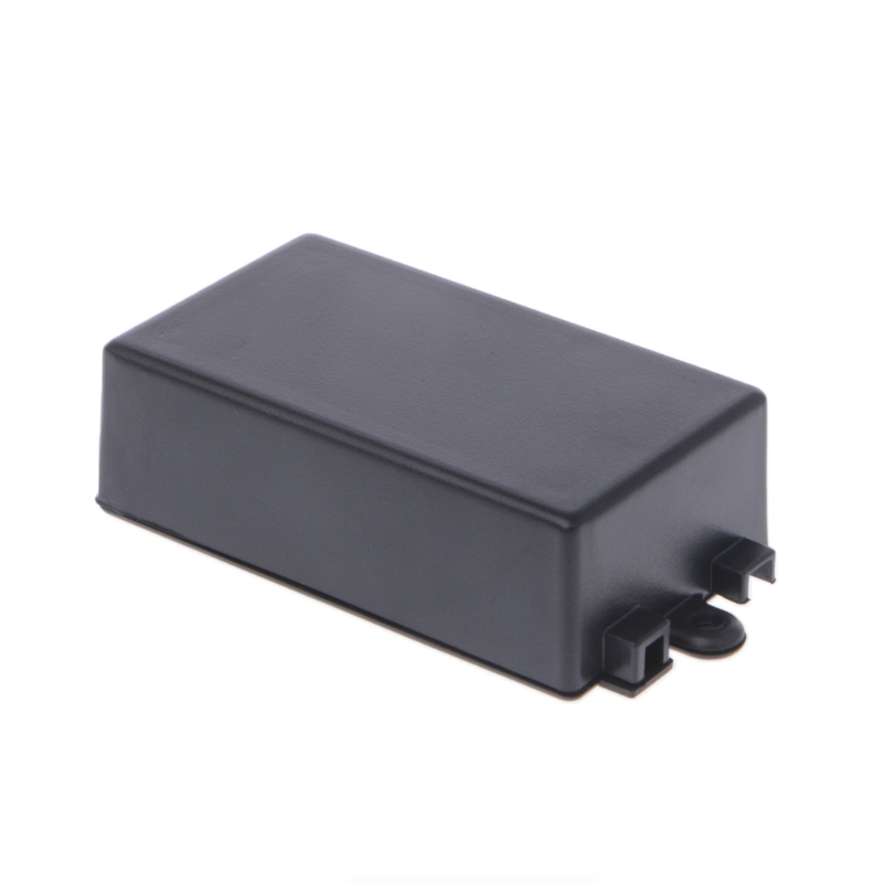 Waterproof Plastic Electronic Enclosure Project Box Black 65x38x22mm Connector