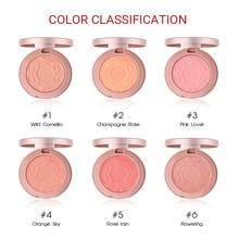 O.TWO.O Face Blusher Powder Rouge Makeup Cheek Blusher Powder Minerals Palettes Blusher Brush Palette Cream Natural Blush все цены