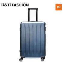Original Xiaomi 2017 New 20 inch Sliding PC Suitcase Trolley Luggage Universal Wheel Business Password Boarding Box