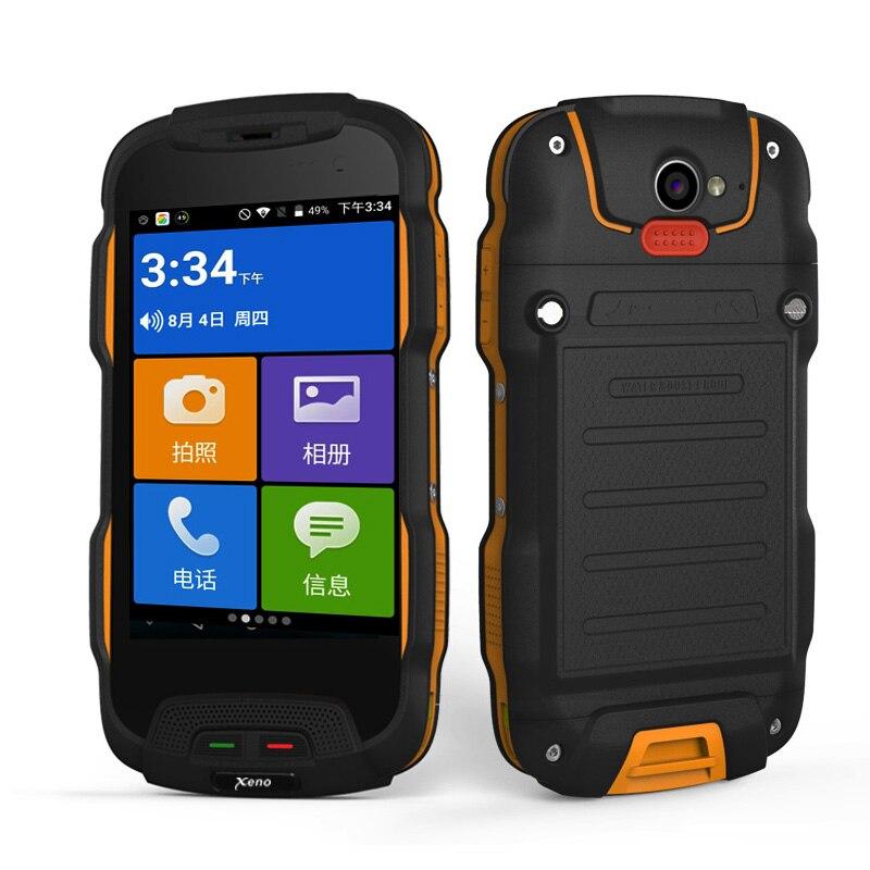 Oinom V9T IP67 V9-T T9H Android smartphone téléphone étanche 4 pouces en plein air 5200 mAh 4g lte mobile robuste antichoc IP68 double SIM
