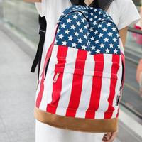 2017 NEW Uk Flag Union Jack American Style Backpack Shoulder School Bags Backpack Canvas Travel Bag Notebook Mochila Feminine