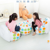 1set Kids Inflatable Chair Lounger Sofa Chairs outdoor Pouf Puff Seat Living Room Furniture Seat Chair with Inflator Pump