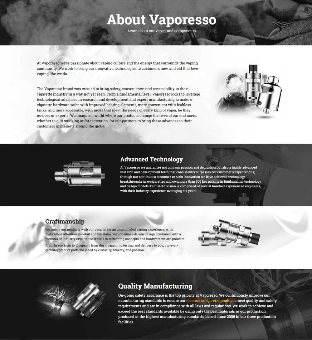 about vaporesso
