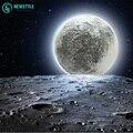 Levou parede de luz noite de lua com controle remoto relaxante lua de cura lâmpada interior para crianças free grátis