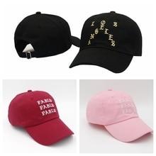 2017 Fear Of God Sanskrit Kenye West cap Female men hat letter Caps hats Justin Bieber Hip Topper baseball Caps hat Cooo Coll
