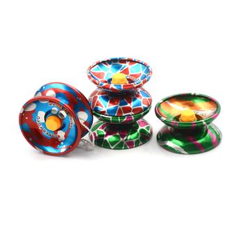 1 sztuk śmieszne zabawki profesjonalne Yoyo Outdoot dzieci zabawki klasyczna piłka yo-yo dzieci wysokiej jakości tanie i dobre opinie KittenBaby CN (pochodzenie) Metal Mini Approx 90cm Unisex OTHER Klej naklejki 38mm Skrzydło shaped 3 lat 56mm