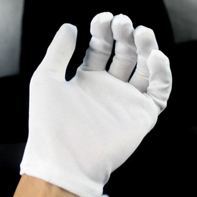 Spandex Gloves Short Paragraph Elastic Thin Jewelry Dance Driving Tight Gloves