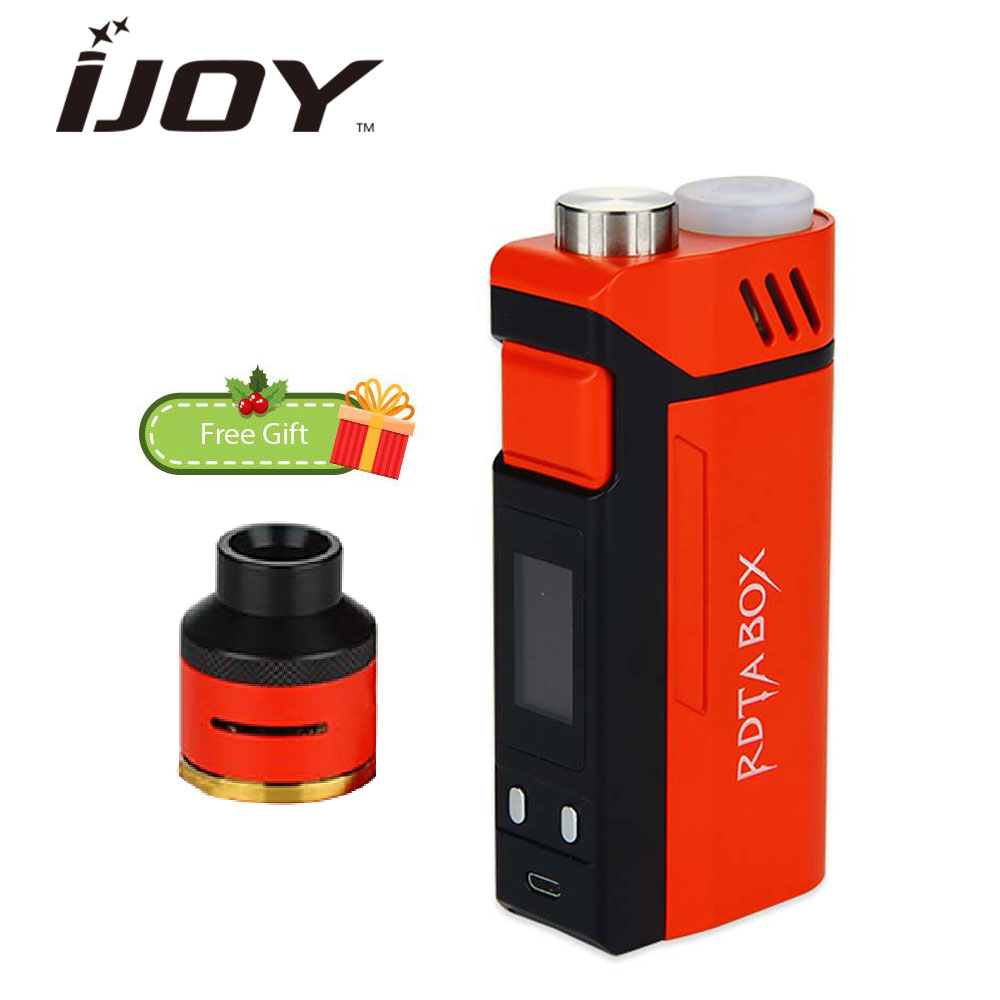 Original 240W IJOY RDTA BOX Triple TC Vape Kit w/ 12.8ml Huge Capacity Support NI/TI/SS/TCR Modes No 18650 Battery E-cigs Kit 100% original sigelei fuchai 213 box mod ss ti ni200 tcr tfr modes 10w 213w 0 1 3 0ohm fuchai 213w tc mod