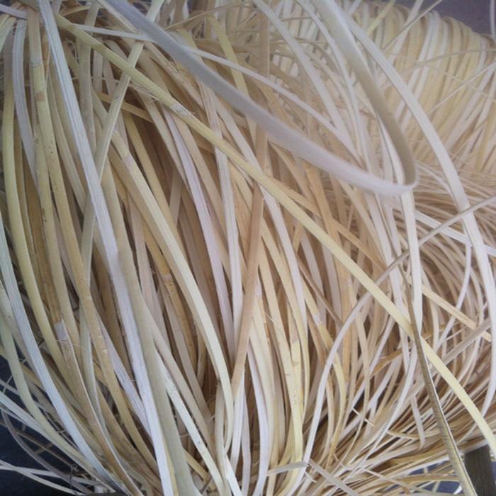 500g/Pack Indonesian Rattan Skin Width 2.3mm 4mm Natural Plant Rattan Handicraft Outdoor Furniture Accessories Basket Material