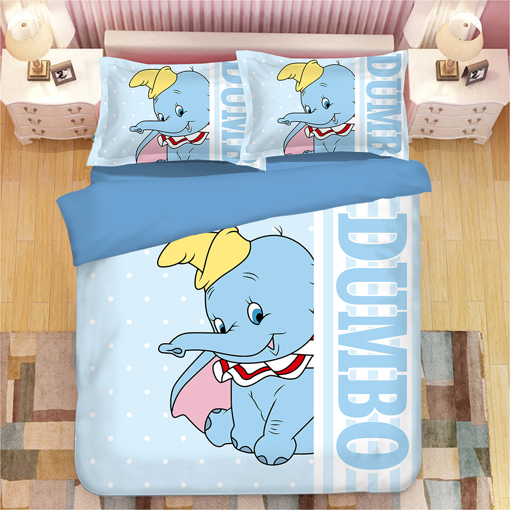 Disney Duffy Bear Shellie May Flannel Blanket Soft Bed Sheet Bedding Set Gift