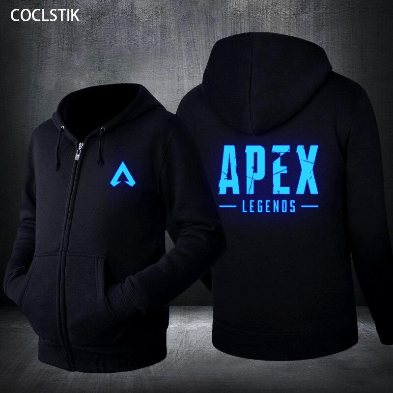 Womens APEX Legends Hero Long Sleeve Sweatshirt Hooded Girls Crop Top Hoodies