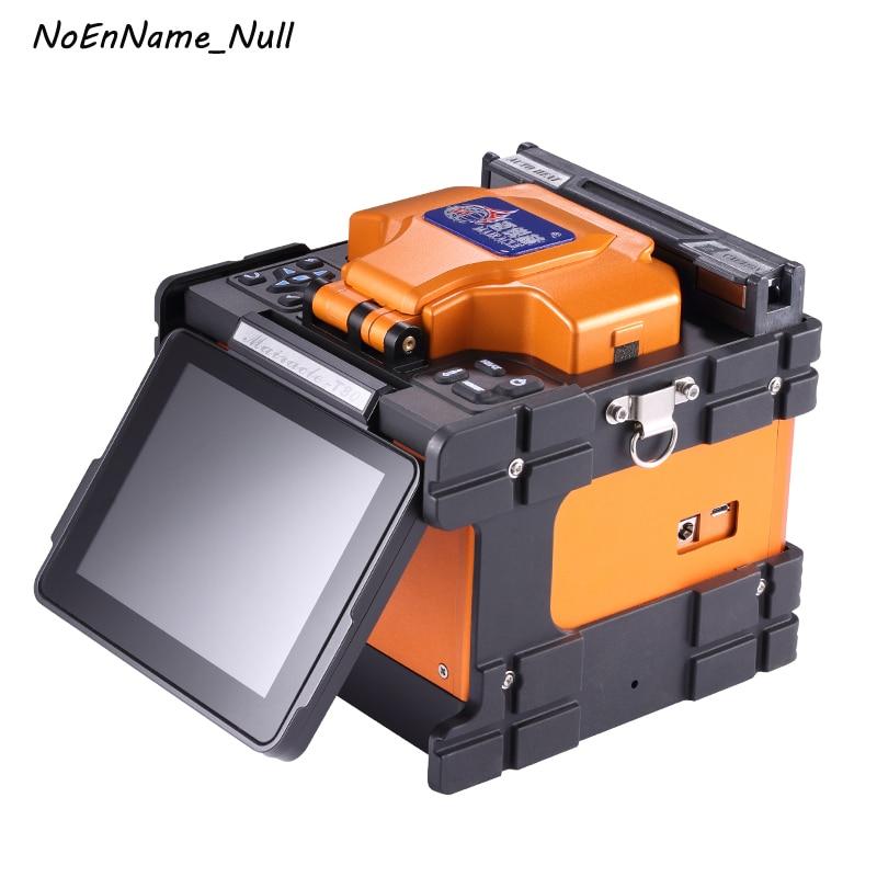 T80 Orange entièrement automatique Fusion épisseuse Fiber optique Fusion épisseuse Fiber optique épisseuse