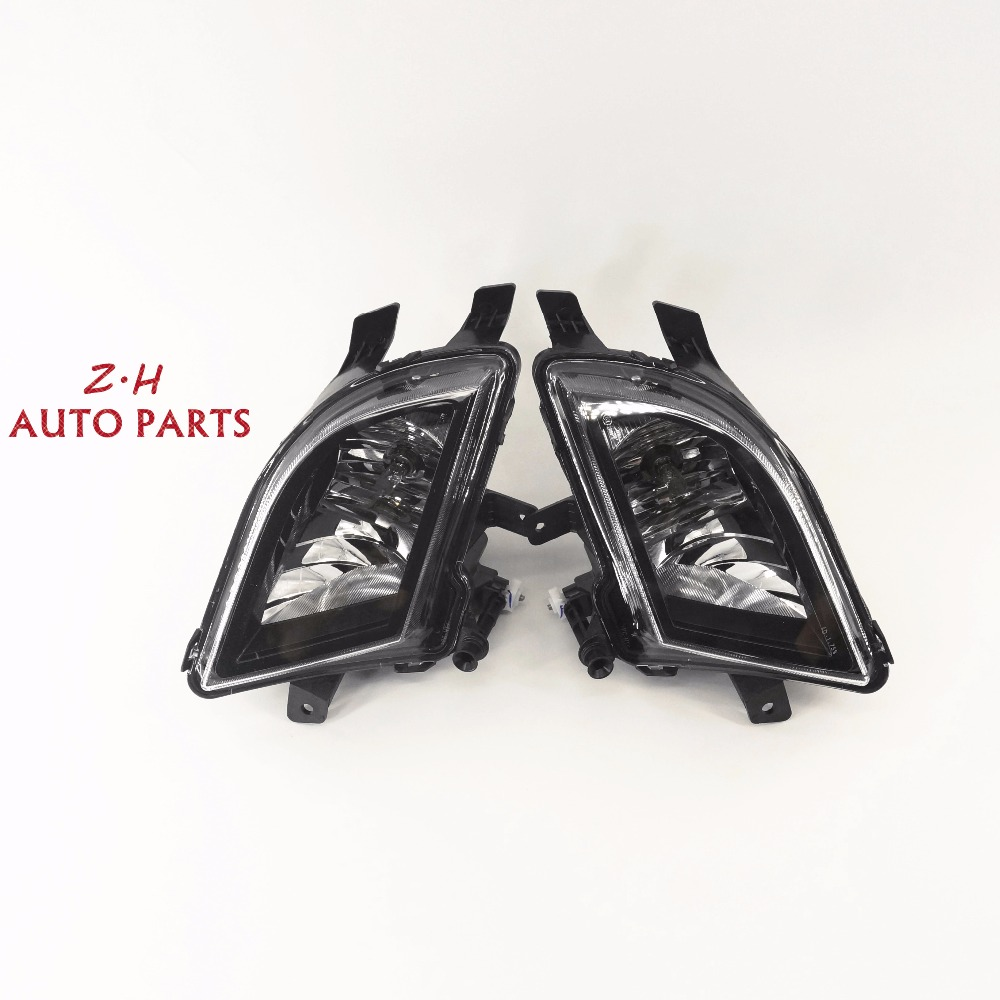 NEW Pair Front L & R Halogen Lamp Light Fog Lamp Assembly For VW JETTA MK6 2015-2017 NCS 5C7 941 700 P 5C7 941 700 R