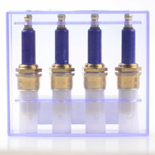GOOFIT 4pcs Ignition Plug Kit New D8TC Blue Spark for Mens Motorcycle Scooter Go Kart H058-039