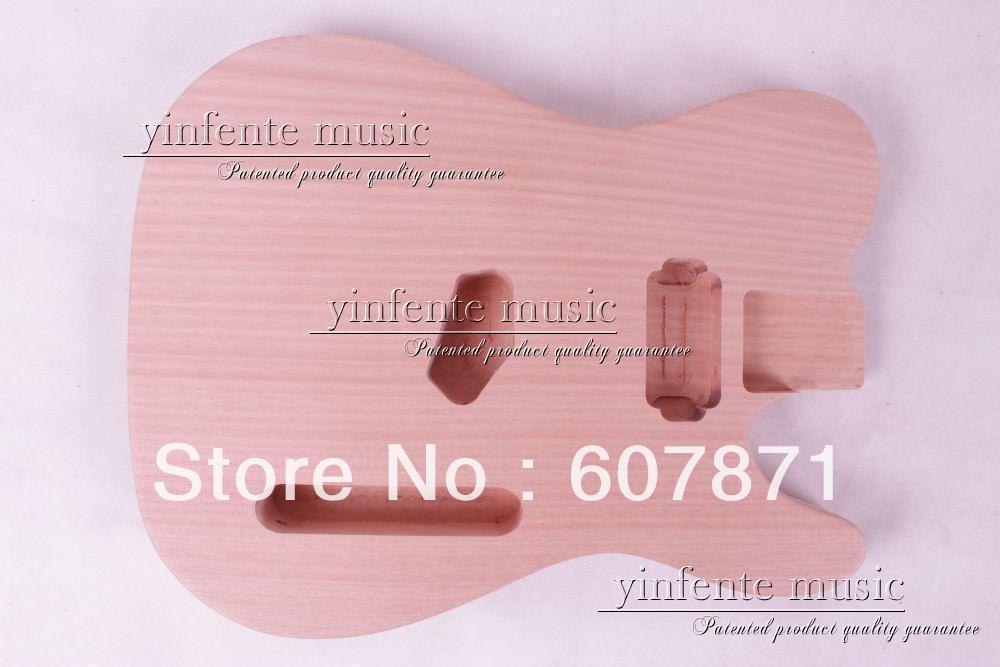 1 pcs Unfinished electric guitar body mahogany made цены онлайн