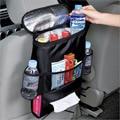 Auto assento de carro organizador porta multi-bolso saco de armazenamento de viagem cabide de volta