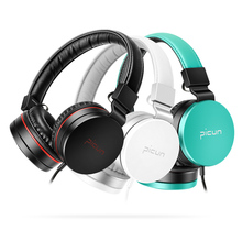 Sound Intone C18 Headphones with Microphone and Volume Control Folding Lightweight supre bass Headset for iPhone Smartphones