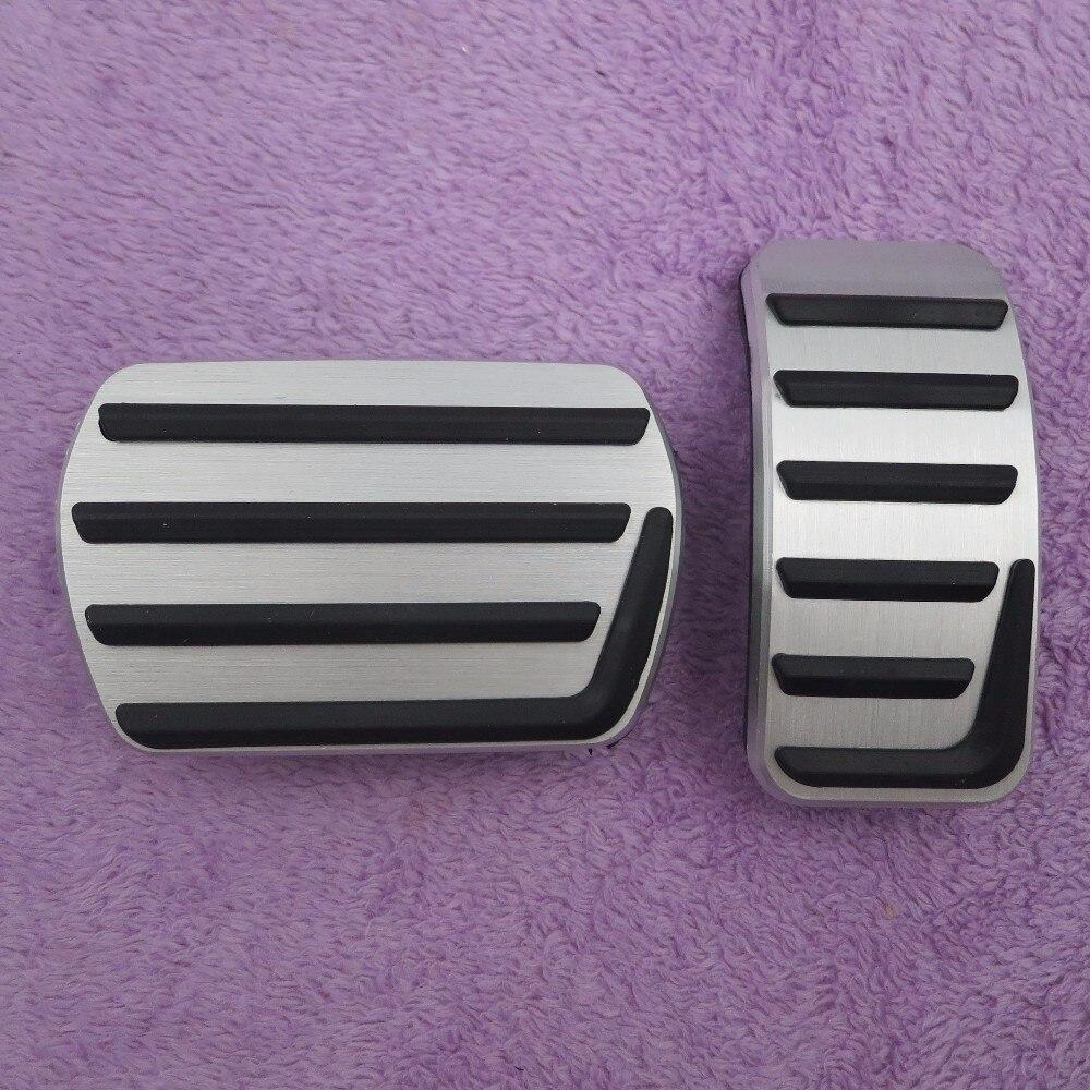 DEE автомобильные аксессуары Алюминиевый сплав акселератора газа педаль тормоза для Volvo S40 V40 C30 AT, Нескользящие педали пластины колодки стиль
