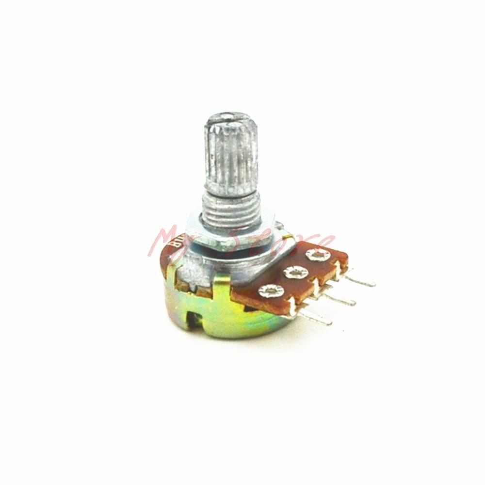 5Pcs WH148 Model Linear Rotary Taper Potentiometer Pot 2K B2K Ohm 3Pin  цены