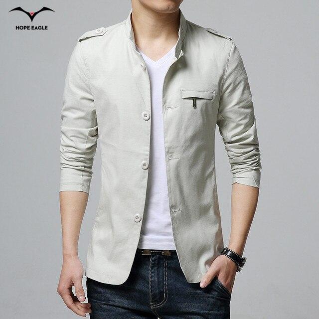 Men's jackets 2016 new spring coat jacket cardigan jacket male fashion classic warm jacket plus size code M-3XL