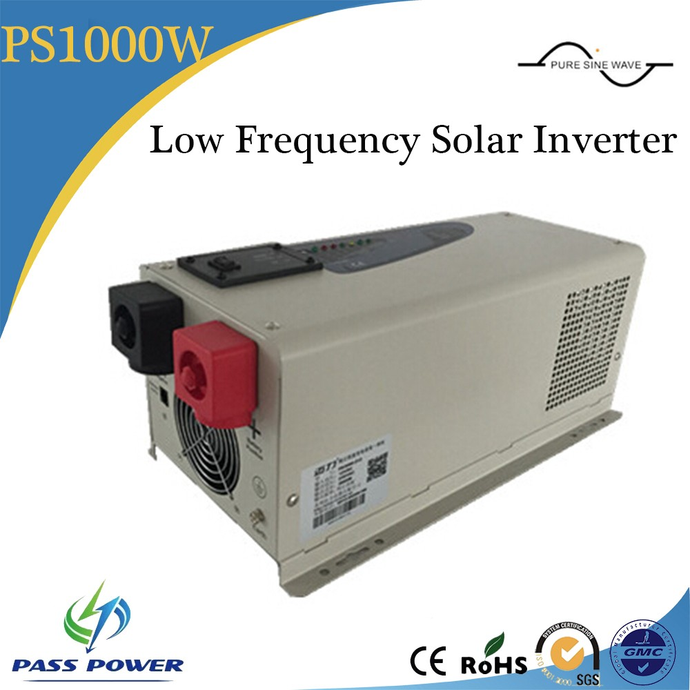 Factory Directly Sell, pure sine wave off grid frequency inverter 1000w dc12v to ac220v low frequency inverter with charger shivaki ssh i127be srh i127be