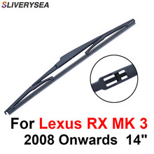 SLIVERYSEA Rear Wiper Blade No Arm For Lexus RX MK 3 2008 Onwards 14 5 door SUV High Quality Iso9001 Natural Rubber A1-35