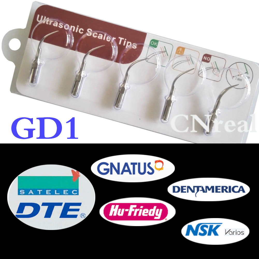 2 pacotes 10 pe as ponta scaler ultrass nica dental gd1 para dte satelec nsk varios