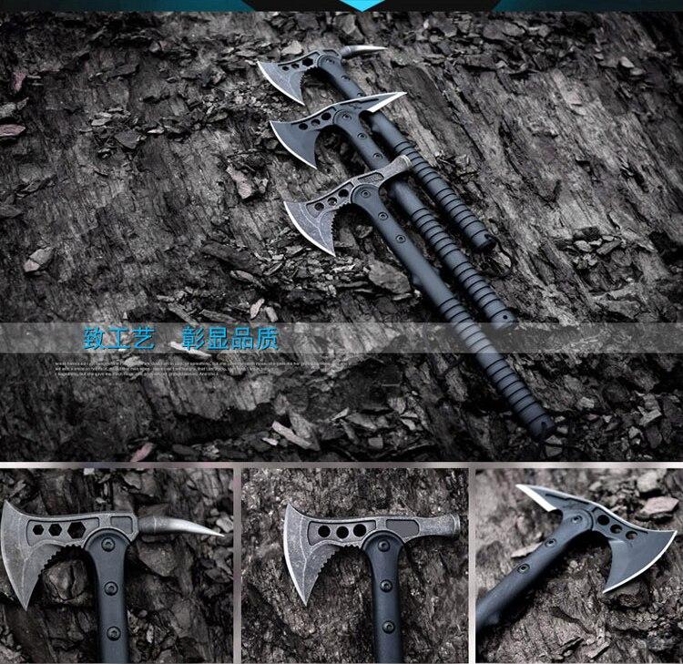 Aliexpress.com  Comprar FBIQQ halcón americano Axe táctico Tomahawk al aire  libre caza Camping Axe manos herramienta fuego Axe montaña corte de  tactical ... 86c521e7a35