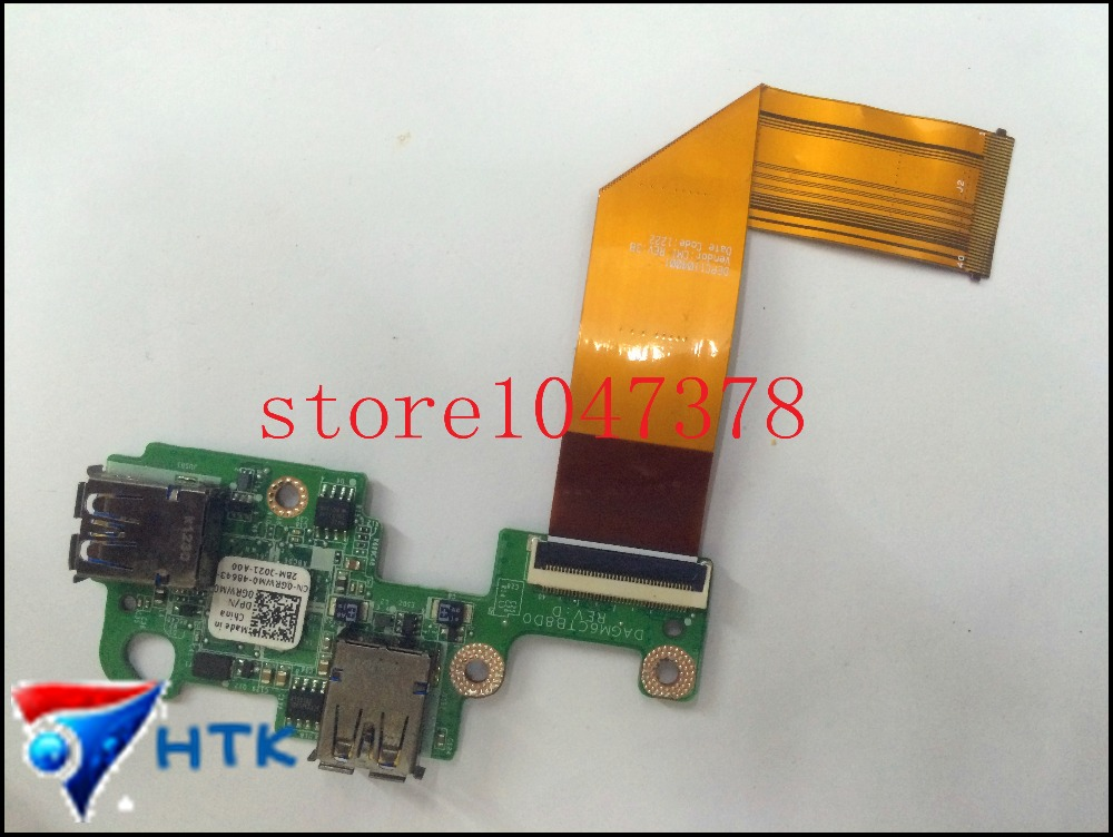 Wholesale For Dell XPS L502x USB Board DAGM6CTB8D0 CN 00GRWM0 0GRWM0 GRWM0 100 Work Perfect
