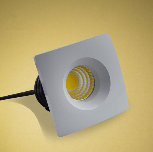 Downlights mini cob quadrado levou downlight Base Tipo : Wedge