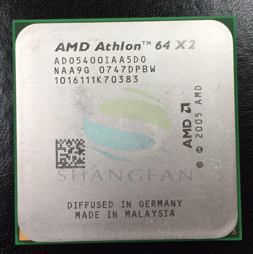 AMD Athlon X2 5400X2 5400 + 2.8 GHz ADO5400IAA5DO ADO540BIAA5DO ADO5400IAA5DS Dual-Core CPU Processeur Socket AM2 940pin