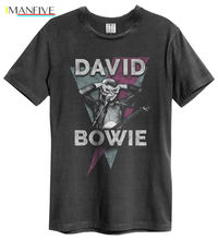 David Bowie 'Look Into My Eyes' T Shirt - Amplified Clothing - NEW & OFFICIAL 100% Cotton Short Sleeve Summer T-Shirt