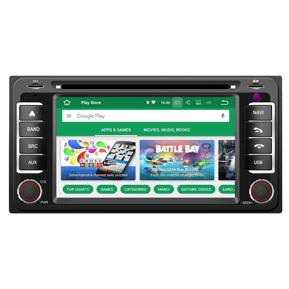 RoverOne Android 8.0 Octa Core autoradio DVD GPS pour Toyota Alphard 2002-2006 Rush écran tactile lecteur multimédia unité de tête