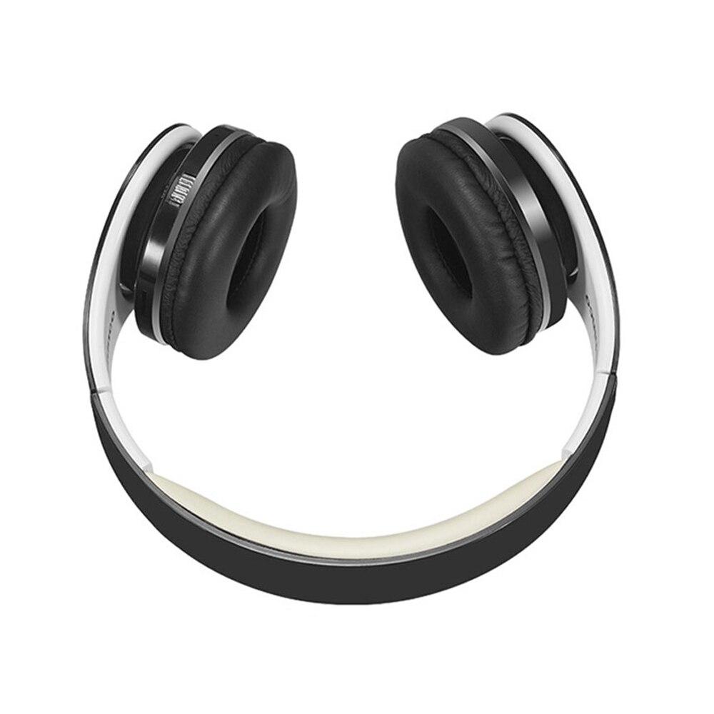 Складной V4.0 Bluetooth наушники Портативный стерео Беспроводной гарнитура открытый шлем Sans Fil с микрофоном для FM карты памяти AUX телефоны ПК