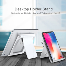 LINGCHEN Universal Mobile Phone Holder Stand Foldable Holder For Phone For iPhone Desk Tablet Stand Cell Phone Holder For Xiaomi