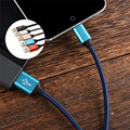 Fashion 1m 2m type C Sync Data charging Cable for Samsung for Iphone Sony Huawei HTC color type C Charging Cable for mobile