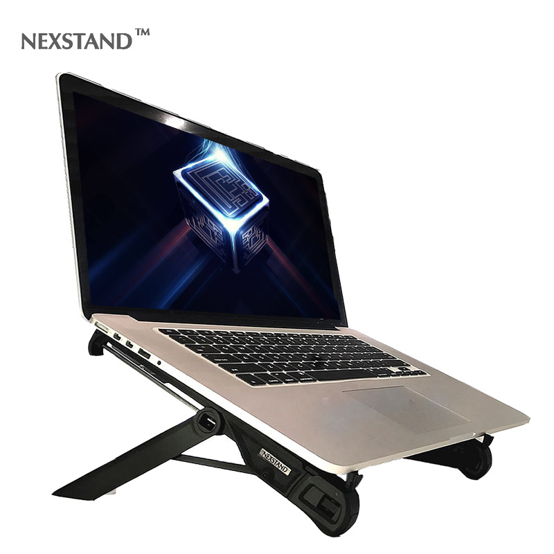 NEXSTAND K7 Laptop Stand Folding Portable Laptop Lapdesks Office Lapdesks. Ergonomic Notebook Stand