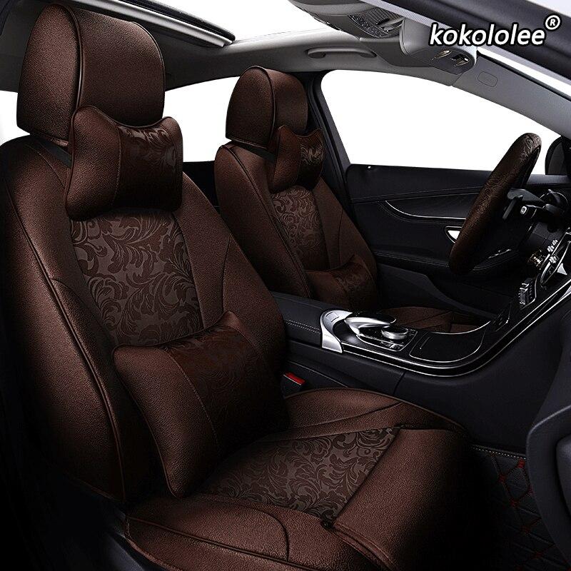 Housses de siège de voiture en tissu sur mesure kokolololee pour CHANGAN CS35 CS75 CS15 CS95 CS55 Benben EV MINI LOVE Yuexiang V3 V5 V7 CX20