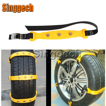 10X Car Wheel Snow Chains For Volkswagen VW Polo Passat B5 B6 CC Golf 4 5 6 7 Touran T5 Tiguan Bora Scirocco Accessories image
