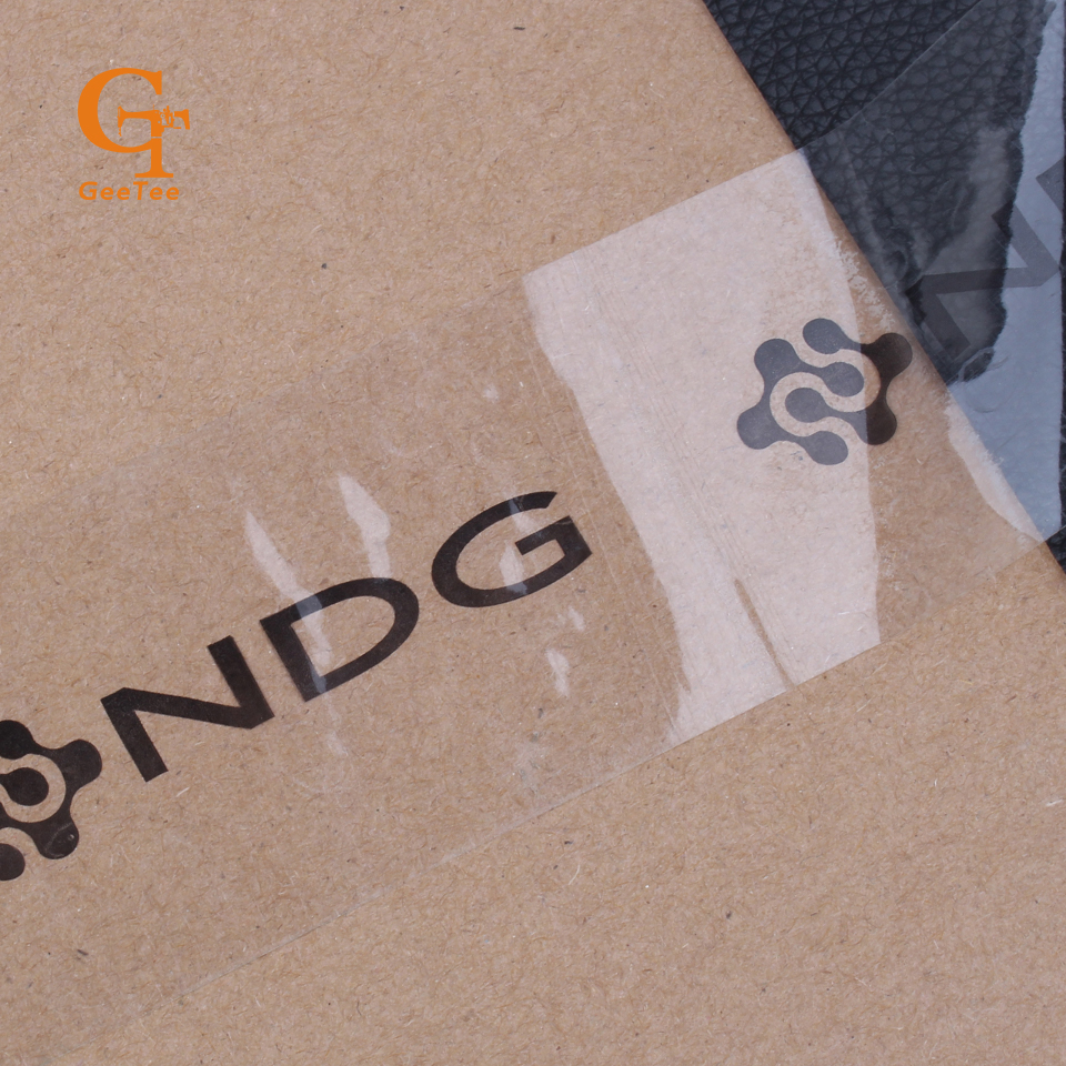 Custom logo brand name printing adhesive tape customized product seal shipping tape labels sealing stickers transparent tape in office adhesive tape from