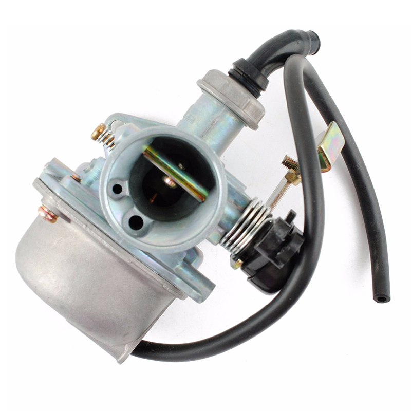 High Quality 19mm Motorcycle <font><b>Carburetor</b></font> PZ19 Carb Fit For 50 70 90cc 110cc 125cc ATV Sunl NST Chinese Cable Choke Accessories image