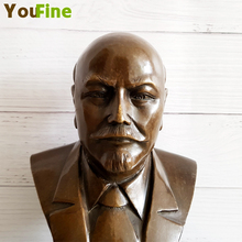 Bronze art crafts celebrity bust bronze statue collection souvenir teaching special home indoor decoration collectibles