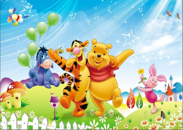 SHANNY Vinyl Backdrops for Photography Winnie Pooh theme Photo Studio Background 81122-21